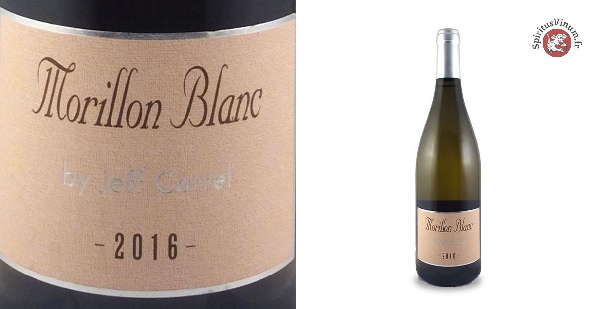Jeff Carrel Morillon Blanc 2016 (Blanc)
